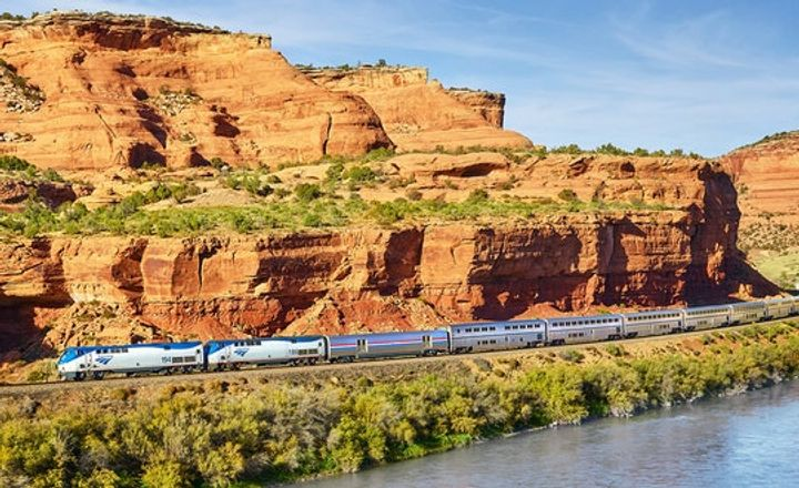 A  Real Show-Stopping Around-the-World Train Trip