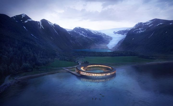 """The World's First """"Energy-Positive"""" Hotel Is Breathtaking"""