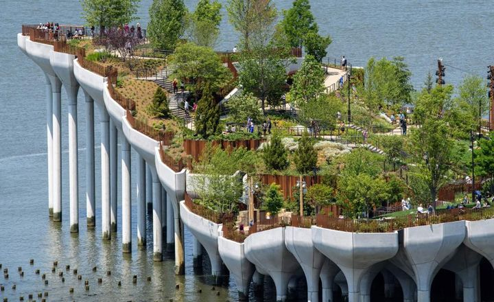 New York City's Newest Park, Little Island, Opens to Public