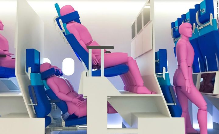 These Double-Decker Airplane Cabin Concepts Could Be the Future