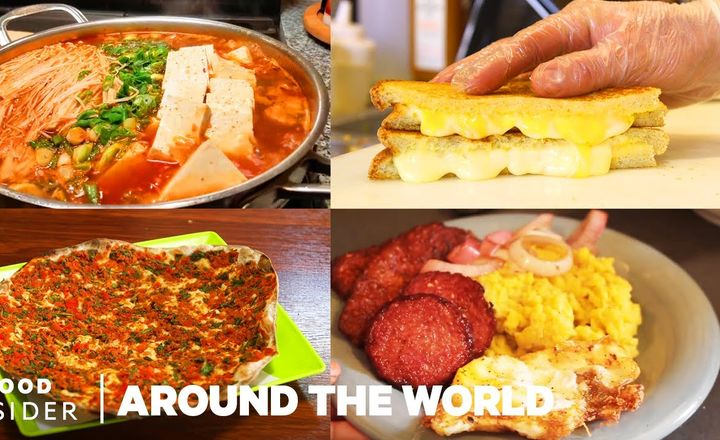 20 Comfort Foods From Around The World